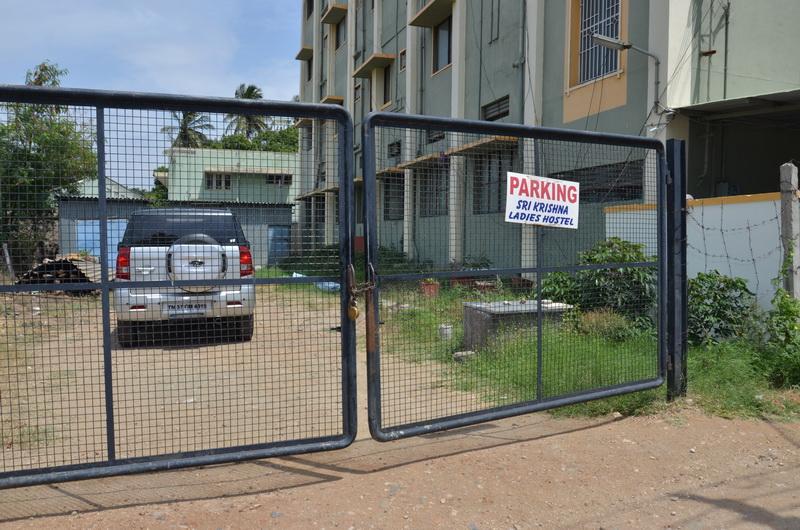 Parking facilities in Sri Krishna Hostel hope college peelamedu coimbatore.jpg